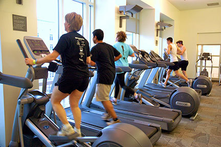 The Cybex Room offers various machines for Fitness Challenge participants. (credit: Kristen Severson/Photo Editor)