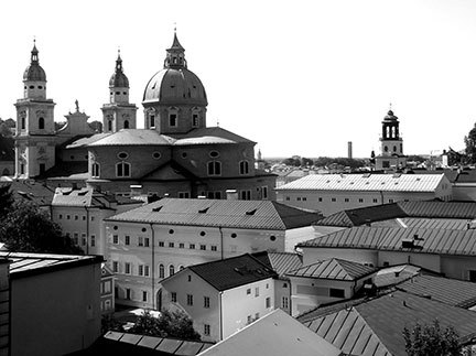 Pictured above is St. Peter's monastery in the scenic Austrian city of Salzburg. (credit: Cynthia Peng | Senior Staffwriter)