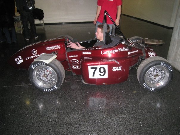 The Society of Automotive Engineers (SAE) showcased their creation at the first annual technology showcase last week.