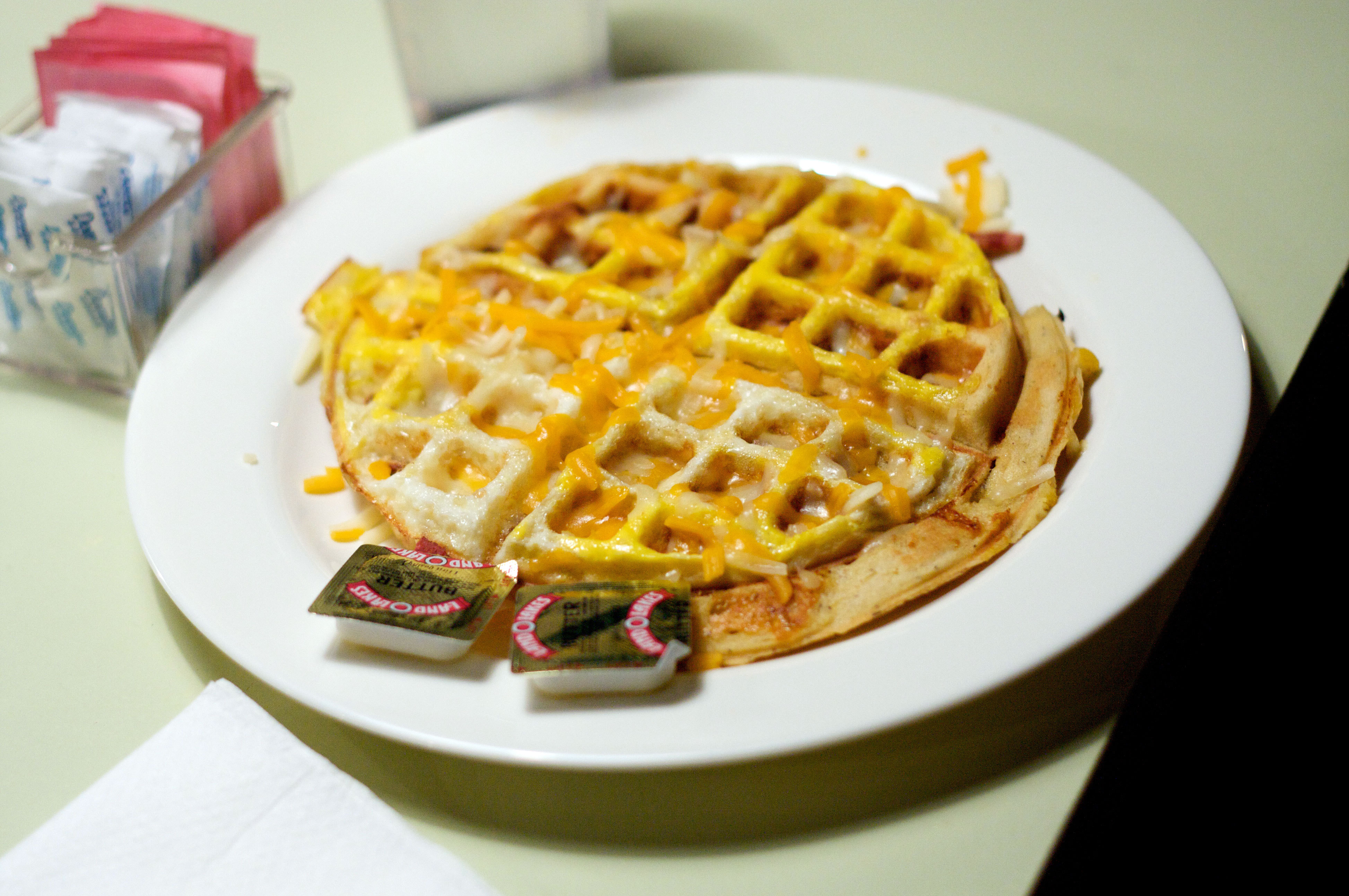 The Waffle Shop serves up delicious homemade waffles. (credit: Travis Wolfe | Photo Staff)