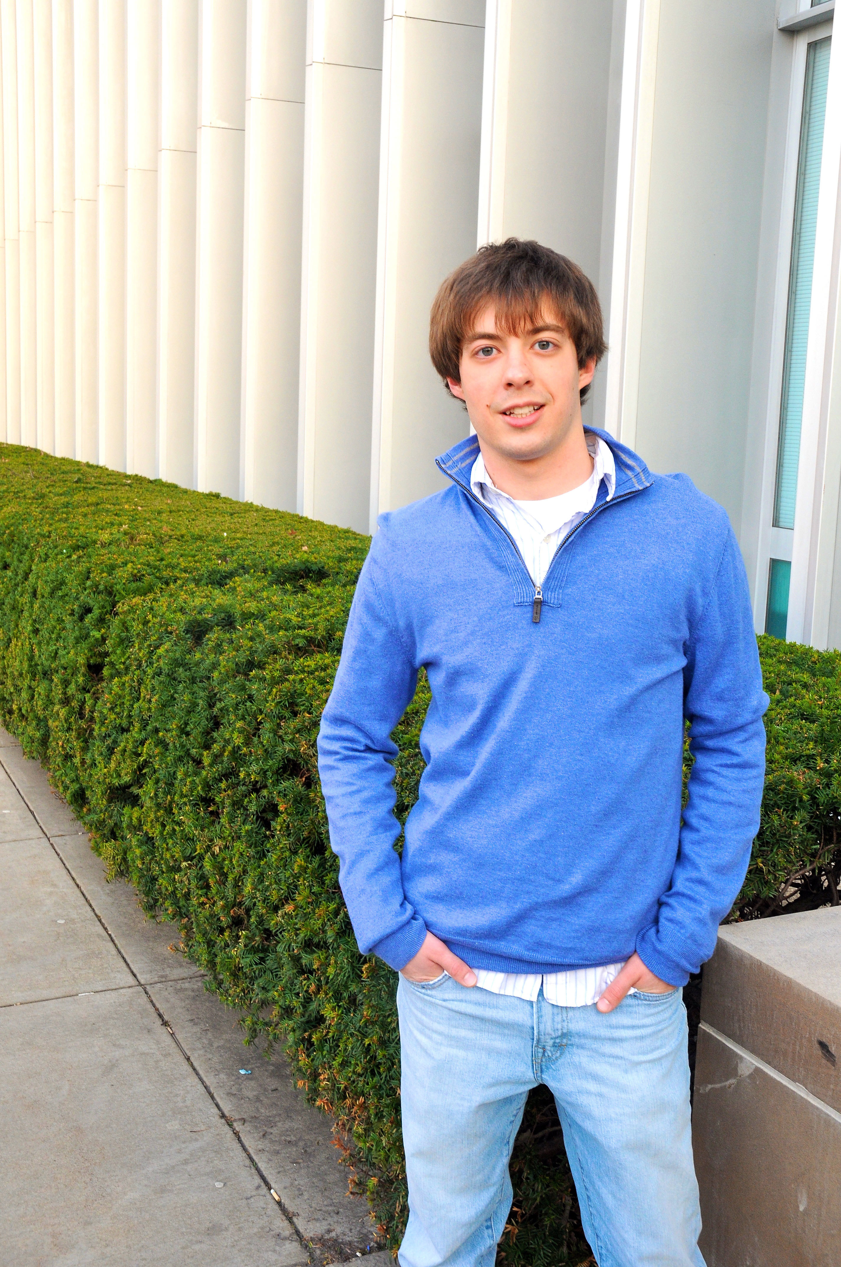 Robert Piston is running for student body vice president of finance. (credit: Kristen Severson/Photo Editor)
