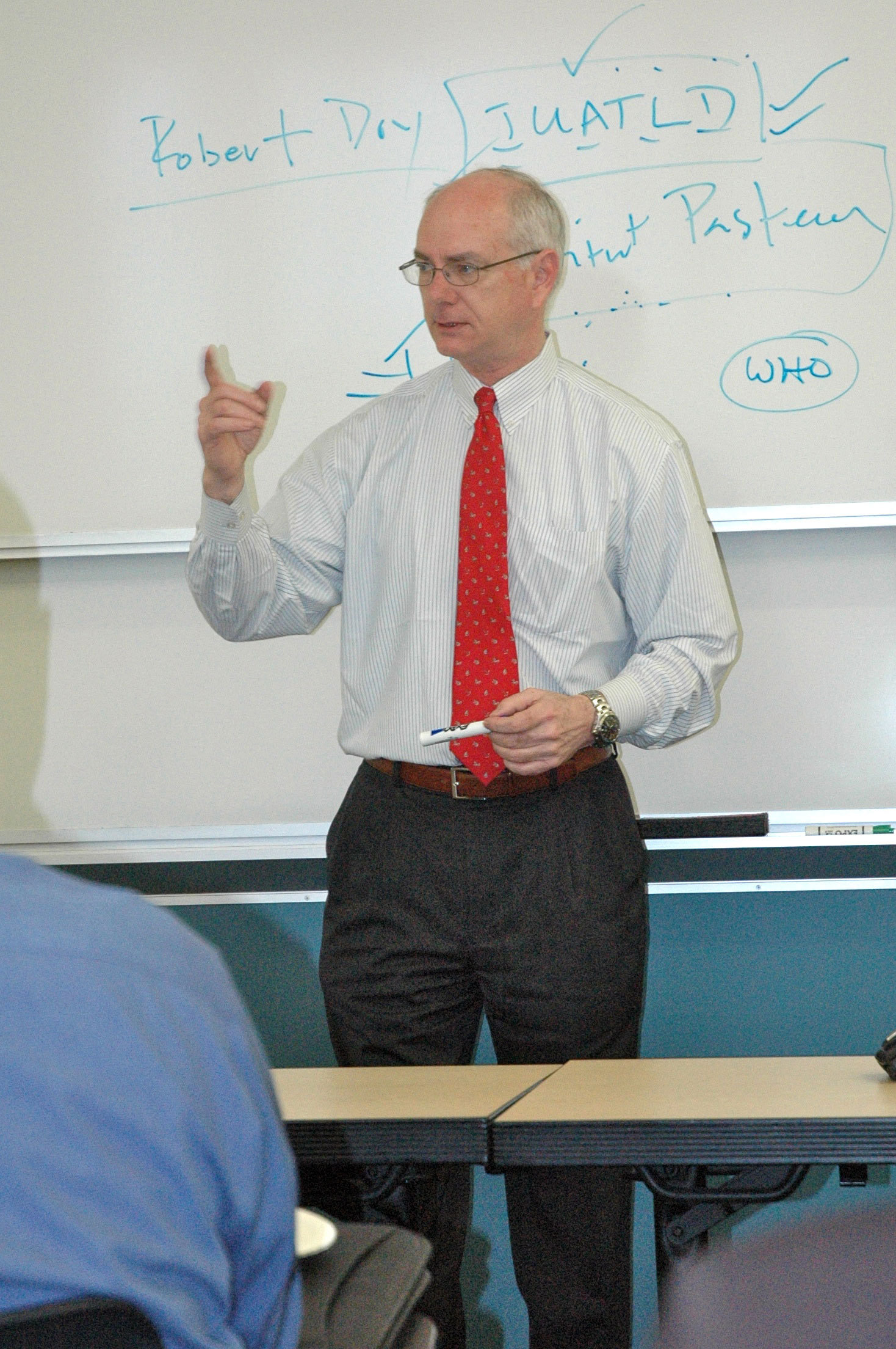 Diplomat Robert Dry visited Carnegie Mellon University last week. (credit: Cassie Wallace/Photo Staff)