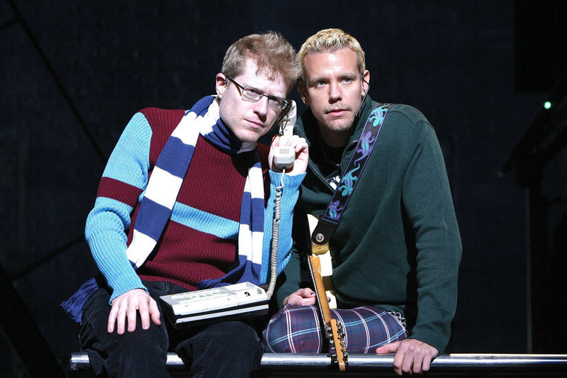 Two of the original Broadway and movie cast members, Anthony Rapp and Adam Pascal, performed in Pittsburgh last week. (credit: Courtesy of Veronica Corpuz)