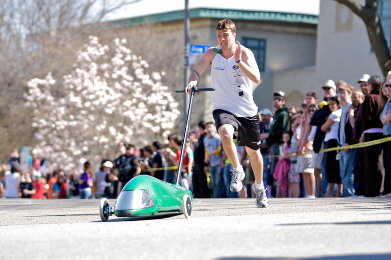 Student Dormitory Council swept the Buggy awards this year in both the men and women categories.  (credit: Travis Wolfe   Photo Staff)