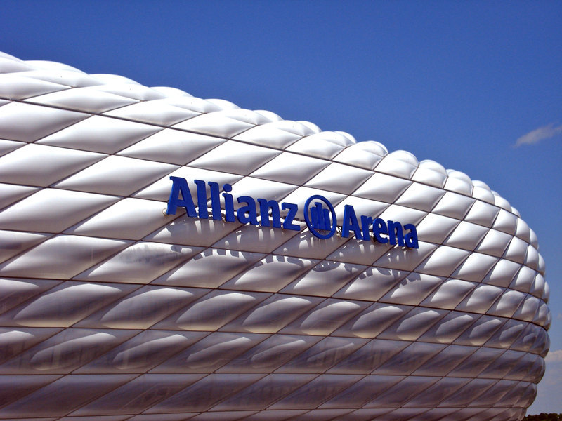 Pictured is the Allianz Arena in Munich. (credit: Courtesy of Manasi Patil)