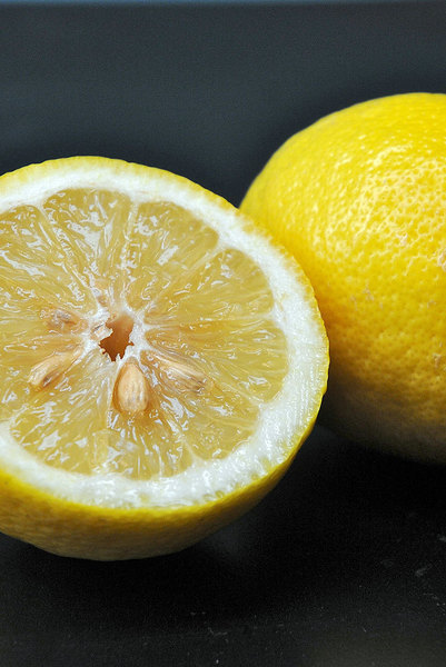 Miracle fruit tablets make sour lemons taste like sweet oranges. (credit: Kristen Severson | Photo Editor)