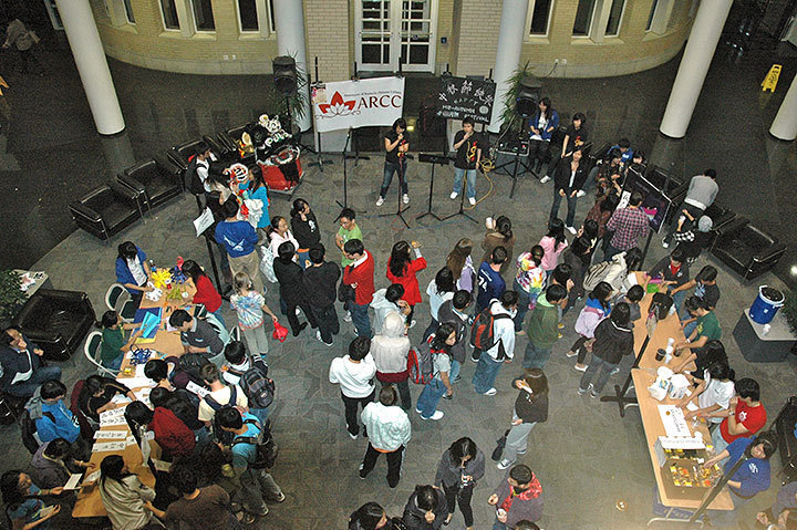 ARCC celebrates Chinese Mid-Autumn Festival at Late Night last Friday.  (credit: Michael Kahn)