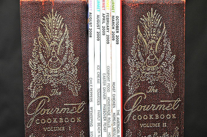 The magazine dates back decades and has volumes of cookbooks published since the '70s. (credit: Kristen Severson)