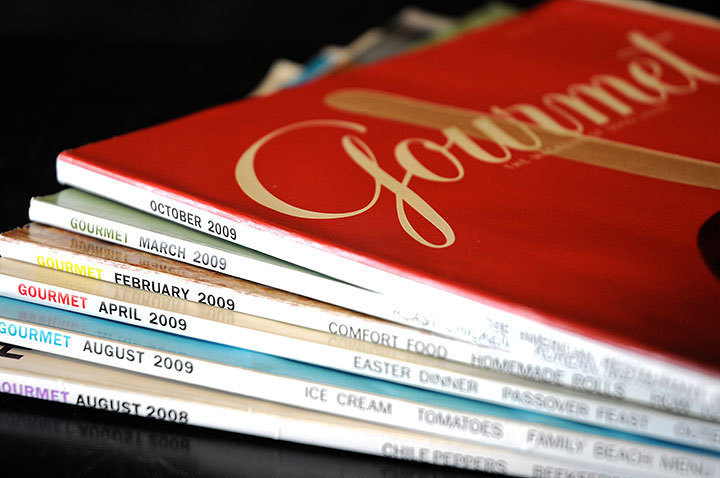 The 2009 issues of the magazine have been thinner than previous years' publications. (credit: Kristen Severson)
