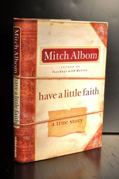 Mitch Albom's newest book *Have A Little Faith* is the eulogy of his 82-year-old rabbi. (credit: Kristen Severson | Photo Staff)