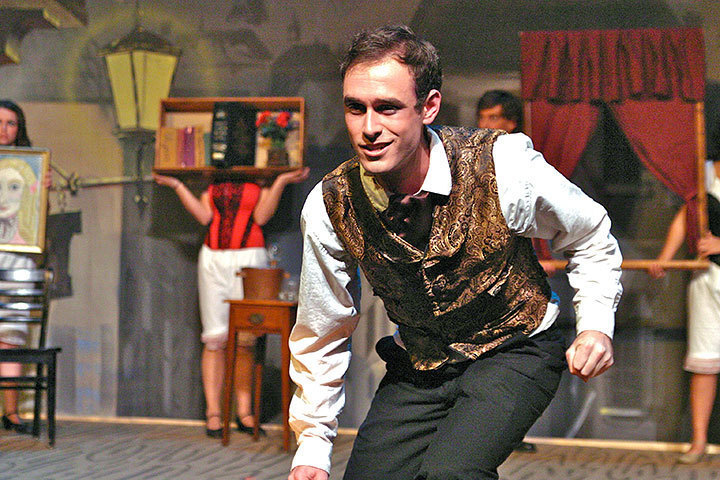 Nick Ryan as John Jasper stole the show with his mischievous songs. (credit: Hannah Rosen | Photo Staff)