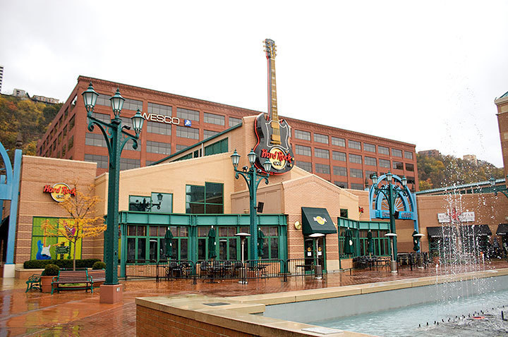 Hard Rock Cafe hosts many musical events that Pittsburghers can enjoy. (credit: Travis Wolfe)