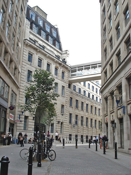The London School of Economics is situated right in the middle of the city.  (credit: Courtesy of Manasi Patil)