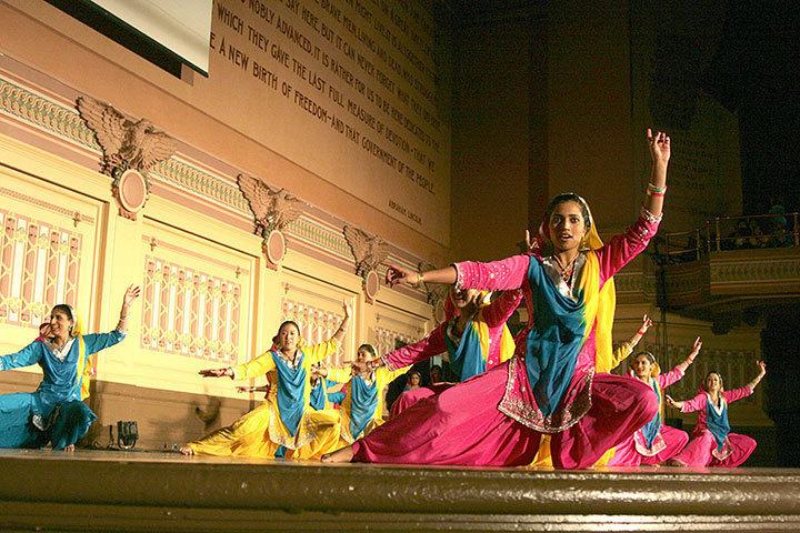 DC Bhangra Crew performs. (credit: Celia Ludwinksi)