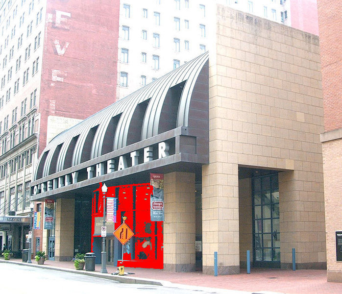 The O'Reilly Theater located downtown was designed by world-renowned architect Michael Graves. The O'Reilly is the fourth theater project of the Pittsburgh Cultural Trust and the fifth Cultural District theater. (credit: Courtesy of Wikimedia Commons)