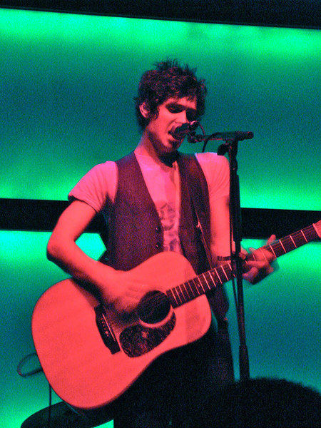 Steve Moakler performed at Diesel Club Lounge last Thursday. (credit: Nick Guesto | Photo Staff)
