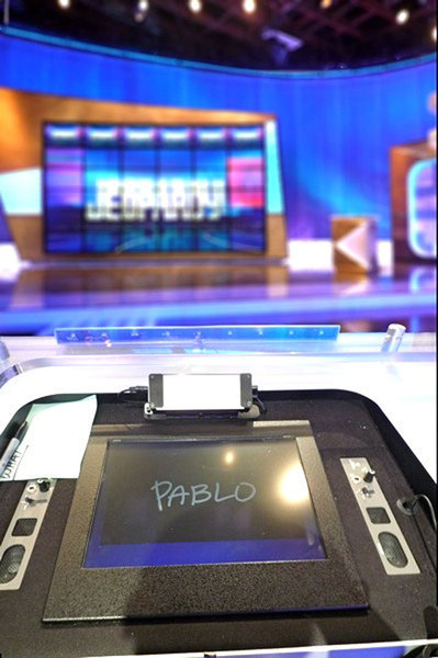 Assistant professor of architecture Pablo Garcia came within $1 of winning NBC's game show *Jeopardy*. (credit: Courtesy of Pablo Garcia)