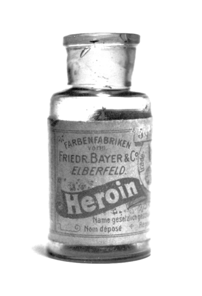 Heroin, once legal, is now known to be severly addictive and harmful. (credit: Courtesy of Wikimedia Commons)