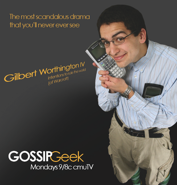 Teen heartthrob Gilbert Worthington IV stars in The CW's Gossip Geek. (credit: Paparazza)