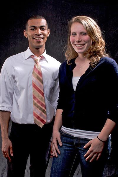Jarrett Adams and Kate Smith (credit: Joshua Debner/Photo Staff)