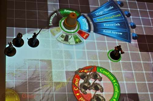 Surfacescapes provides Dungeons & Dragons with computer tabletop technology. As an interactive desktop, it will allow users to control characters, roll dice, and do battle by interacting with a screen. (credit: Courtesy of Wikimedia Commons)