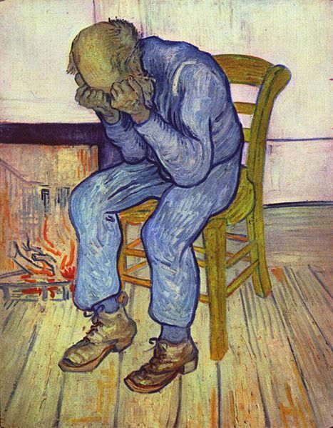 Depression, represented here by Vincent Van Gogh, is a medical condition that can be easily treated, but is often ignored. (credit: Courtesy of Wikimedia Commons)