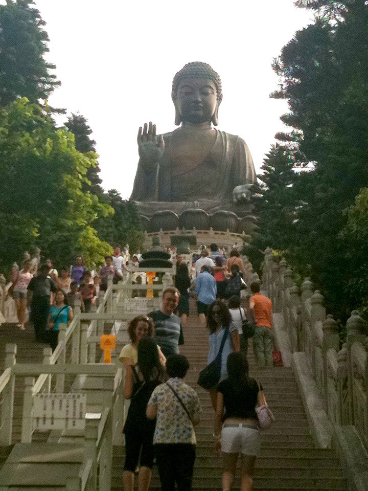 There are many tourist locations to visit, such as Lantau Island with its giant Buddha statue. (credit: Shweta Suresh | Editor-in-Chief)