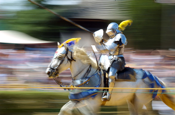 The Pittsburgh Renaissance Festival in West Newton, running through the end of September, is a unique opportunity to experience medieval life (credit: Courtesy of Jeff Kubira on flickr)