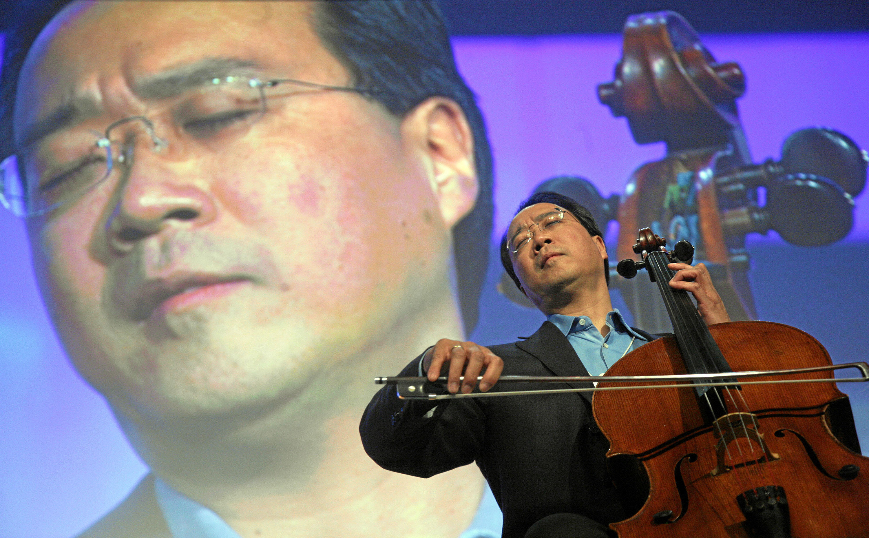 World-renowned cellist Yo-Yo Ma comes to Heinz Hall in October. (credit: Courtesy of World Economic Forum on flickr)