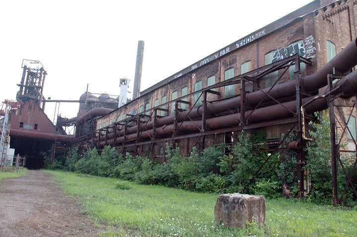 The Carrie Furnaces offer visitors and longtime Pittsburgh residents alike the chance to catch a glimpse of the Pittsburgh steel industry's glory days. The site, in Rankin, Pa., is currently open during scheduled hours. (credit: Courtesy of Tom Strong)