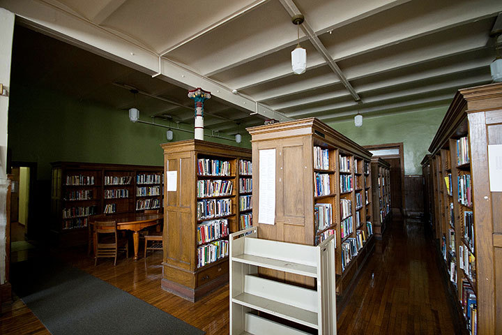 The Braddock library was the first Carnegie Library founded in the United States. (credit: Patrick Gage Kelley/Contributing Editor)