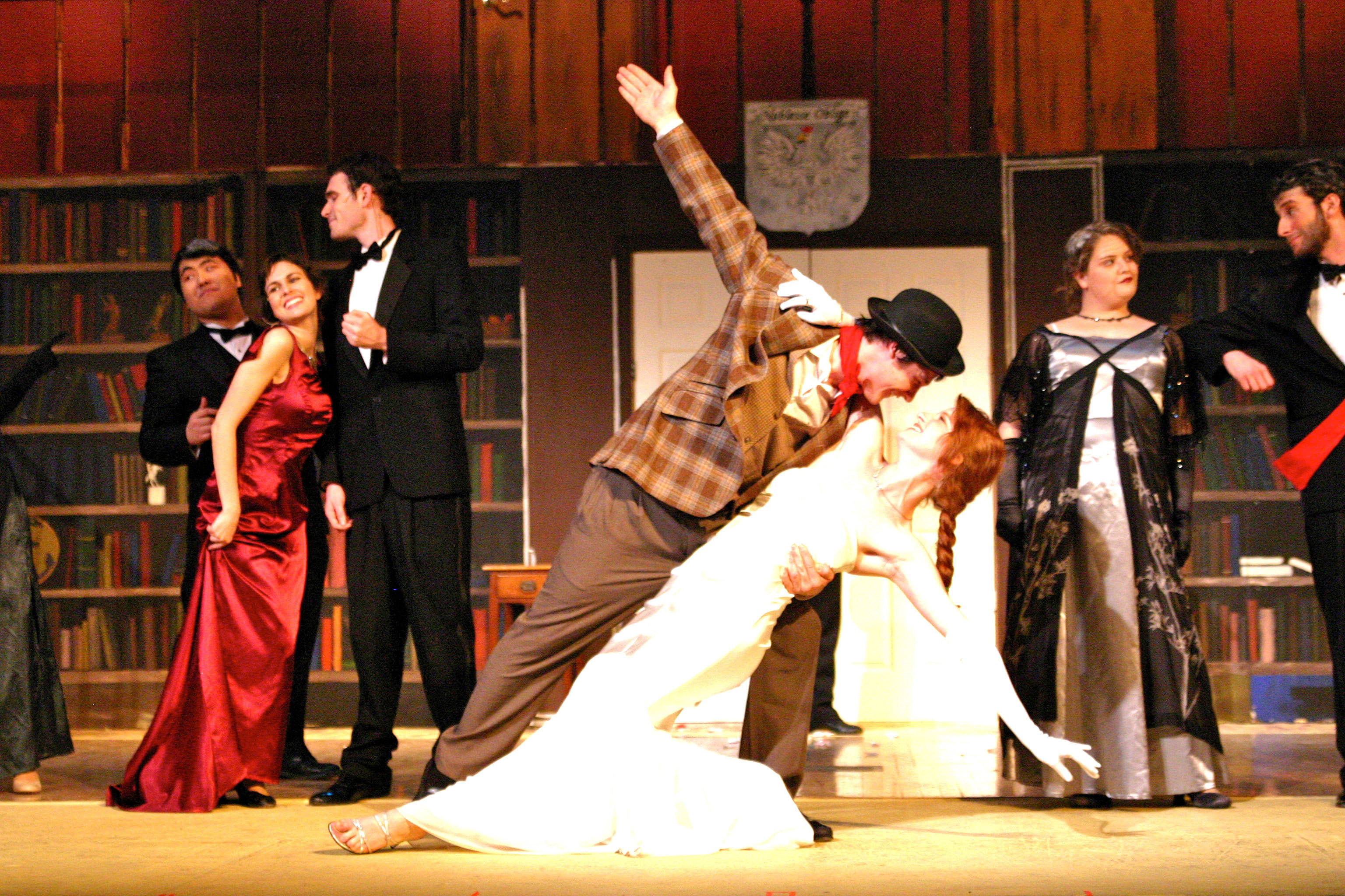 A shot from Scotch'n'Soda's April 2009 production of *Me and My Girl*.  (credit: File Photo)