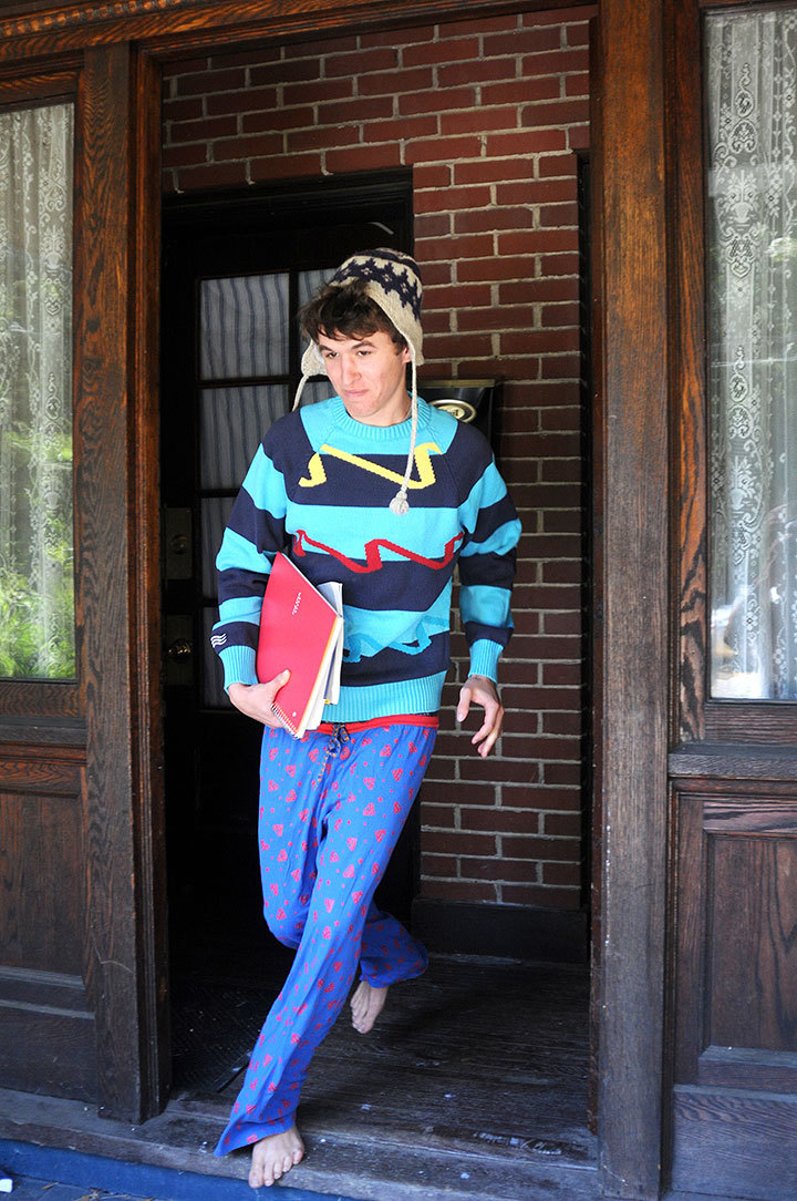 Don't get caught running to class in your pajamas: There are plenty of ways you can prevent a last-minute fashion disaster.  (credit: Tommy Hofman | Assistant Photo Editor)