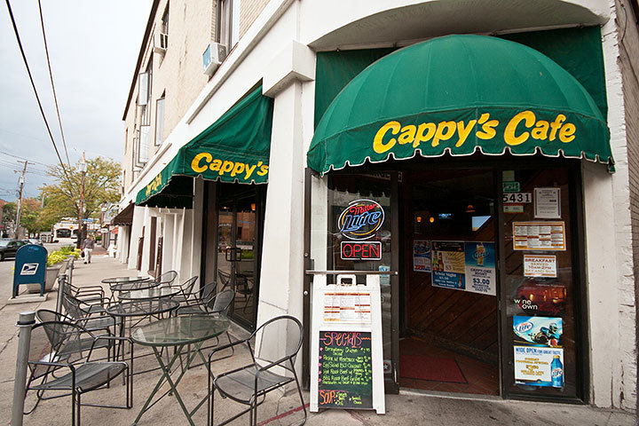Cappy's Café, located in Shadyside, is not your typical breakfast joint. Grab a seat on the outdoor patio and enjoy all that Walnut Street has to offer. (credit: Patrick Gage Kelley | Photo Staff)