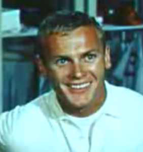 Tab Hunter starred in the movie adaptation of *Damn Yankees*.