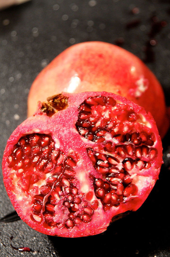 Pomegranates have been known to increase sex drive and stimulate the consumer's libido. (credit: Tommy Hofman | Assistant Photo Editor)