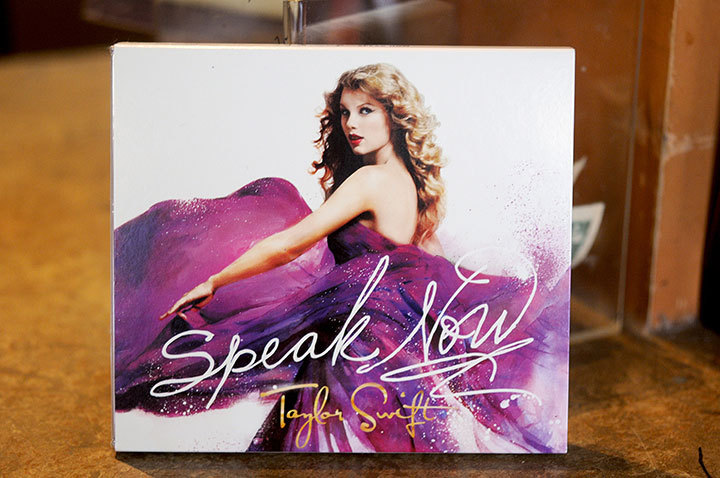 Swift's sophomore album, Speak Now, has already reached the number one slot on iTunes.   (credit: Tommy Hofman | Assistant Photo Editor)