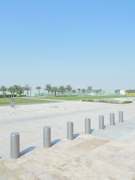 A view of the area surrounding the Carnegie Mellon Qatar campus, where Goodman studied.  (credit: Courtesy of Jessica Dickinson Goodman)