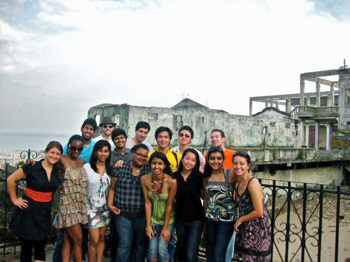 The team of Carnegie Mellon students poses for a picture while working for the Panama Project. (credit: Courtesy of Yong-Gyun Choi)