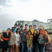 The team of Carnegie Mellon students poses for a picture while working for the Panama Project.
