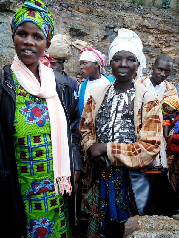 Local Rwandan women. (credit: Courtesy Of Sruthi Chintakunta )