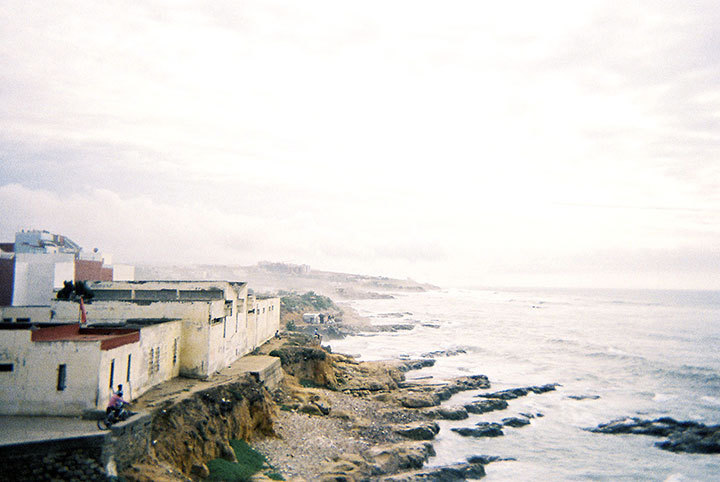 The view of Asilah, Morocco from Stephanie's travels. (credit: Courtesy of Stephanie Goldfein)