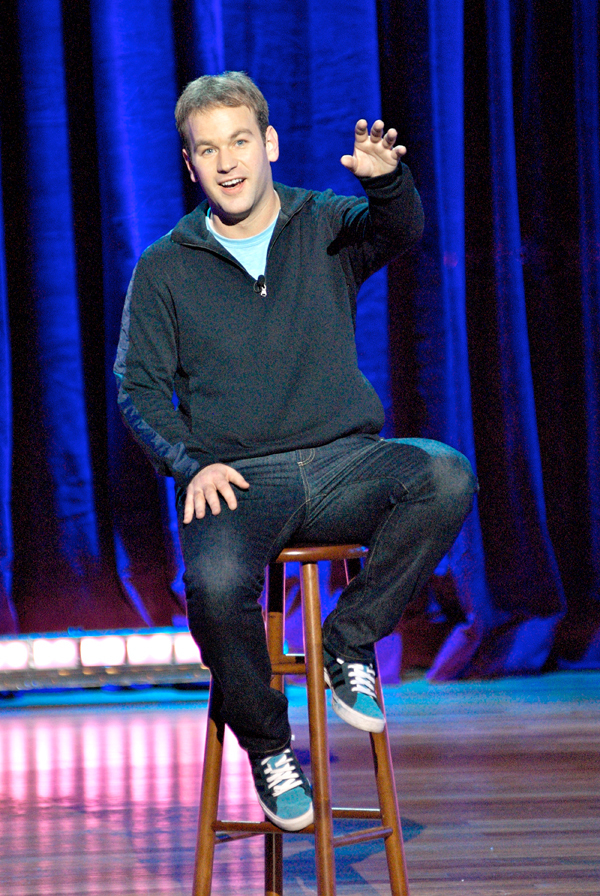 Mike Birbiglia is mostly known for his stand-up routine and _The Best of Comedy Central_. (credit: Courtesy of Mike Lavoie)