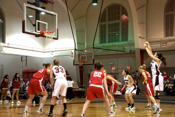 Carnegie Mellon shoots a free throw. (credit: Jessica Sochol)