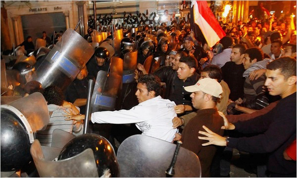 Riots spread throughout Egypt in reaction to President Hosni Mubarak's resignation. (credit: Courtesy of Global Tech Firm)