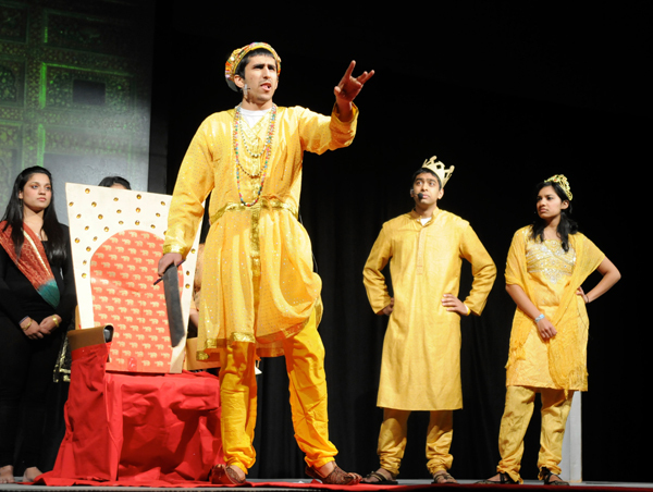 "The storyline for ""History Hungama"" took the audience through India's history,"