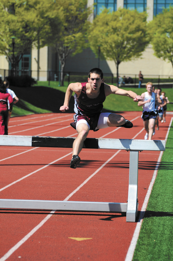 Both men's and women's track and field performed solidly at Kent State. (credit: File Photo)