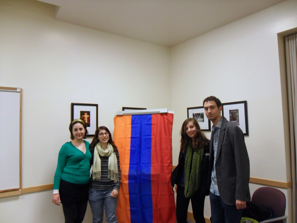 The Armenian Students Association of Pittsburgh shares Armenian history and culture. (credit: Courtesy of Vinay Prabhu)