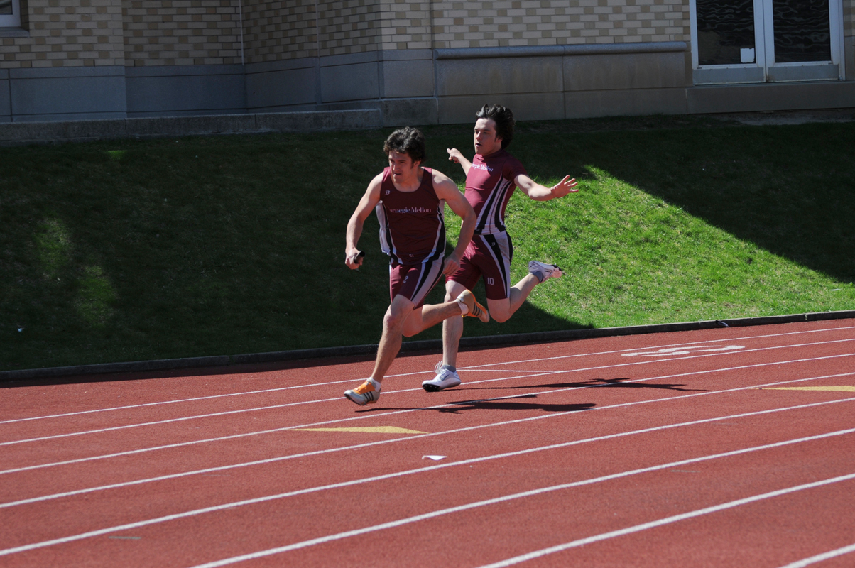 The Carnegie Mellon track and field team finished strong on Saturday (credit: File Photo)