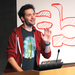 Reddit co-founder Alexis Ohanian speaks to students about his success story.